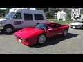The Ferrari 288 GTO leaving Car event | Monterey Carweek 2015
