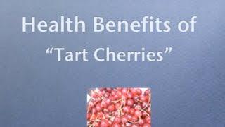 How To Use Tart Cherries The  Wonder Juice