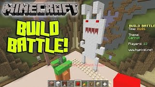 Minecraft BUILD BATTLE on Hypixel! Super Poop World Record?