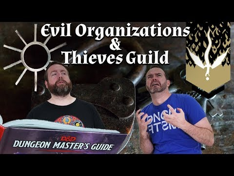 Evil Organizations & Thieves' Guilds in 5e Dungeons & Dragons