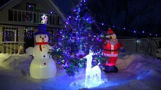 Лучшее новогоднее оформление подворий и зданий в Данковском районе