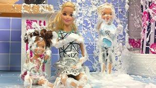 Barbie ve Ailesi Bölüm 135 - Can Traş Oluyor - Çizgi film tadında Barbie oyunları