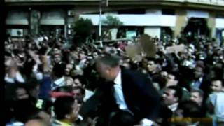 CRISIS IN EGYPT STREET PROTESTS IN CAIRO Raw Footage January 29 2011