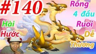 High Celestial Dragon Rồng Cấp H 4 Đầu Dragon City HNT chơi game Nông Trại Rồng HNT Channel New 140