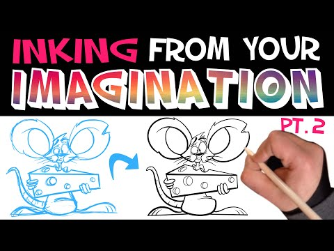 How to INK: Let's Draw Episode 26 Pt. 2