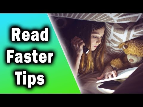 """How to Read Faster - 8 Practical Tips to """"Speed Reading"""""""