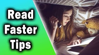 "How to Read Faster - 8 Practical Tips to ""Speed Reading"""