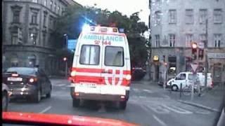[Mitfahrt] NEF + RTW Wiener Rettung + Polizei Wien