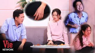 Diễn quá nhập tâm,Trường Giang khiến Lâm Vỹ Dạ hết hồn vì sự cố ngay trên sâu khấu |Kỳ Tài Thách Đấu