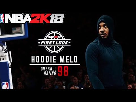 DIAMOND HOODIE MELO in NBA 2k18?! New Special Diamond Themed Cards in MyTEAM Mode?!