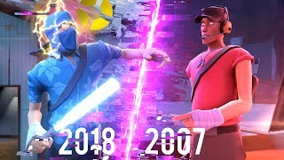 Играем в Team Fortress 2 из 2007 Года!