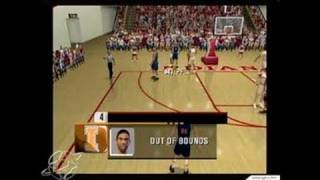 NCAA College Basketball 2K3 GameCube Gameplay - Color
