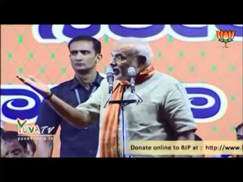 Narendra Modi Latest- Making fun of Salman Khurshid's height of stupidity