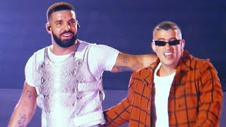 Bad Bunny Ft. Drake En Vivo - Mia - American Airlines Arena