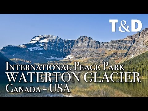 Waterton-Glacier International Peace Park - Canada - USA