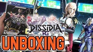 Грі Dissidia Остання фантазія НТ реліз скандаліст видання (на PS4) розпакування !!
