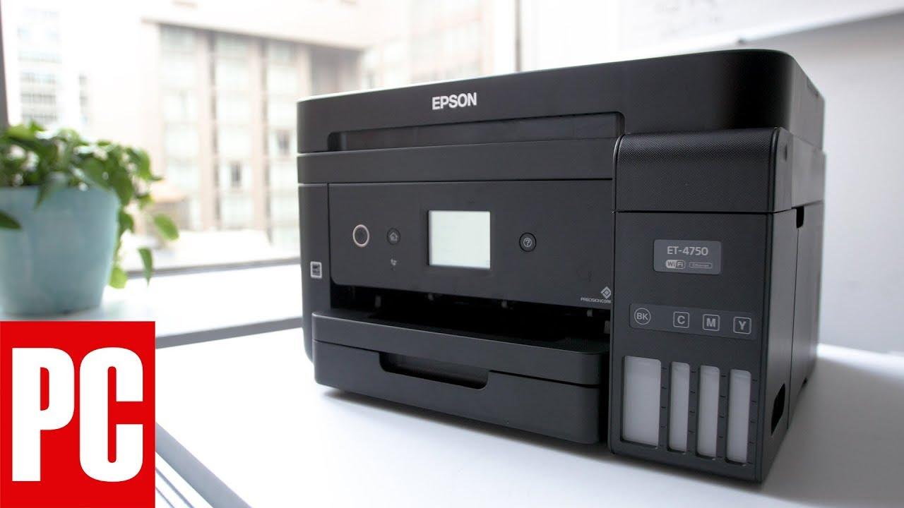 Epson WorkForce ET-4750 EcoTank All-in-One Supertank Printer Review
