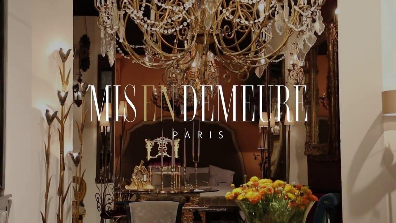 Mis en Demeure, salon Maison&Objet - janvier 2016 - YouTube