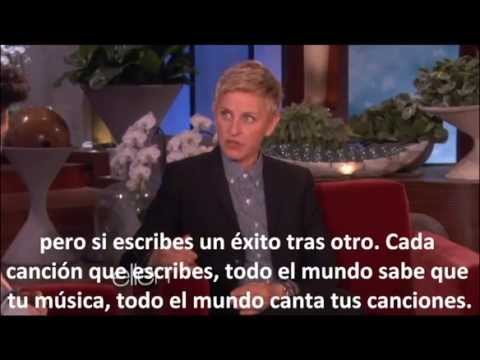 Bruno Mars entrevista de Ellen traducido al español