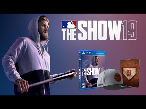 MLB The Show 19: Bryce Harper Cover Athlete, Release Date & Pre-Order Information!