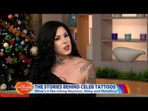 Kat Von D in Australia - The Morning Show interview