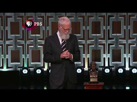 Letterman on receiving Mark Twain Prize: 'I'm trying to impress' my son