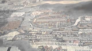 マダバ(ヨルダン) マダバの地図