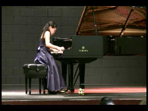 Annie (11) Plays Chopin Etude In F Minor, Op. 10 No. 9