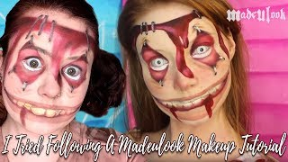 I Tried Following a Madeyewlook Makeup Tutorial - Alice: Madness Returns Insane Children
