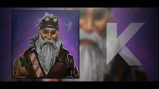 FORTNITE SKIN DRAWING - SGT WINTER