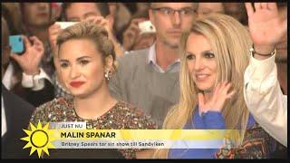 Britney Spears tar sin show till Sandviken - Nyhetsmorgon (TV4)