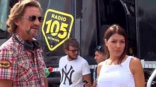 Lignano 2015 Dj Giuseppe e Ilenia di radio 105