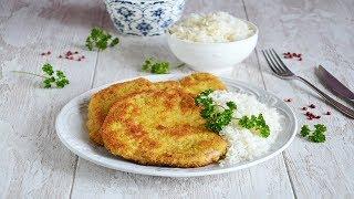 Шницель из свинины на сковороде 😊 Шницель рецепты #1000menu