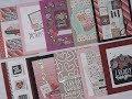 10 Cards - 1 Kit / Simon Says Stamp / Favorite Person Kit / Jan 2018