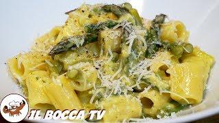 596 - Carbonara di asparagi..per momenti magici! (primo vegetariano delicato, sfizioso e leggero)