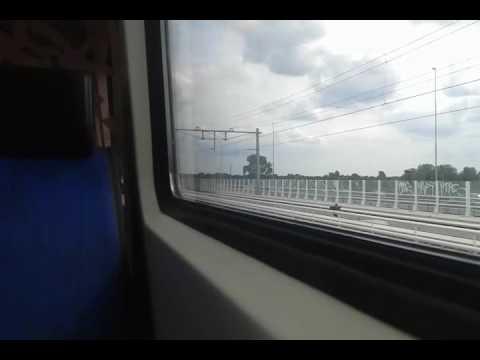 Treinrit - Met ICMm 4034 Van Station Amsterdam Zuid naar Amsterdam BijlmerArenA