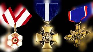 Medals, Medal of honor and iron cross - military medals