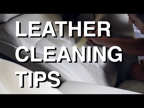 Can i use vinegar to clean my leather car seats