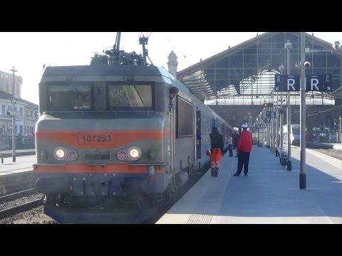 Corail TGV TER à Marseille St Charles