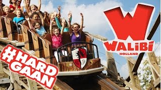 All Rollercoaster Onride Walibi Holland #Hardgaan (GO-PRO)