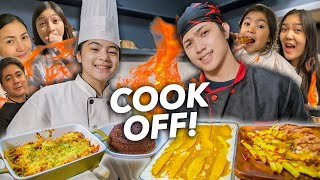 Who Can COOK The BEST FOOD?! (Siblings Cook Off SARAP!!) | Ranz and niana