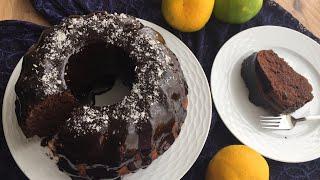 Невероятно легкий в приготовлении и Супер шоколадный кекс+ганаш,çikolatalı kek #ганаш#шоколадныйкекс