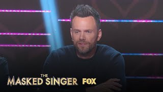 Joel McHale Joins The Panel | Season 1 Ep. 3 | THE MASKED SINGER