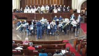 176 RCACS Band - Royal Air Force March Past