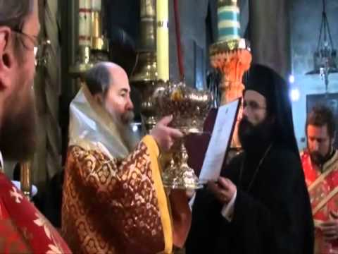 Η εορτή του Αγ. Βασιλείου στο Πατριαρχείο Ιεροσολύμων
