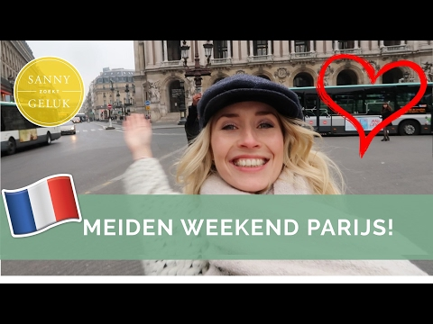 Weekendje Parijs + Shoplog + leukste hotspots! | Sanny zoekt Geluk