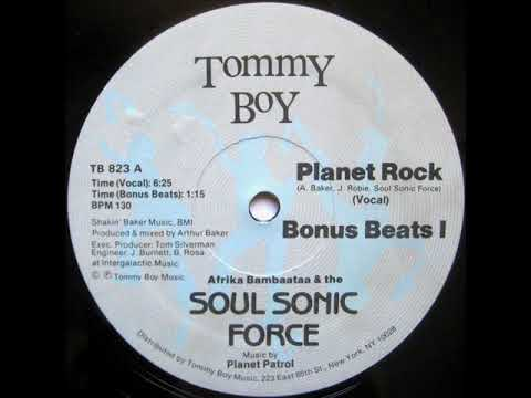 Afrika Bambaataa & The Soul Sonic Force - Planet Rock (1982)
