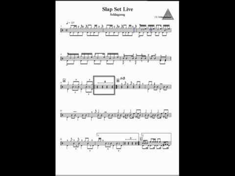 Octava Composer - Drum Notation Example