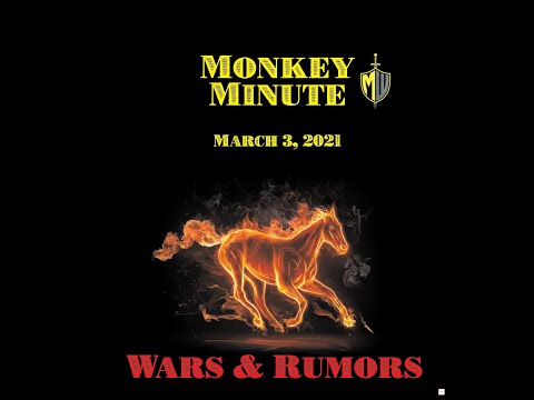Monkey Minute for 3.3.21 - Biblical News from Around the World