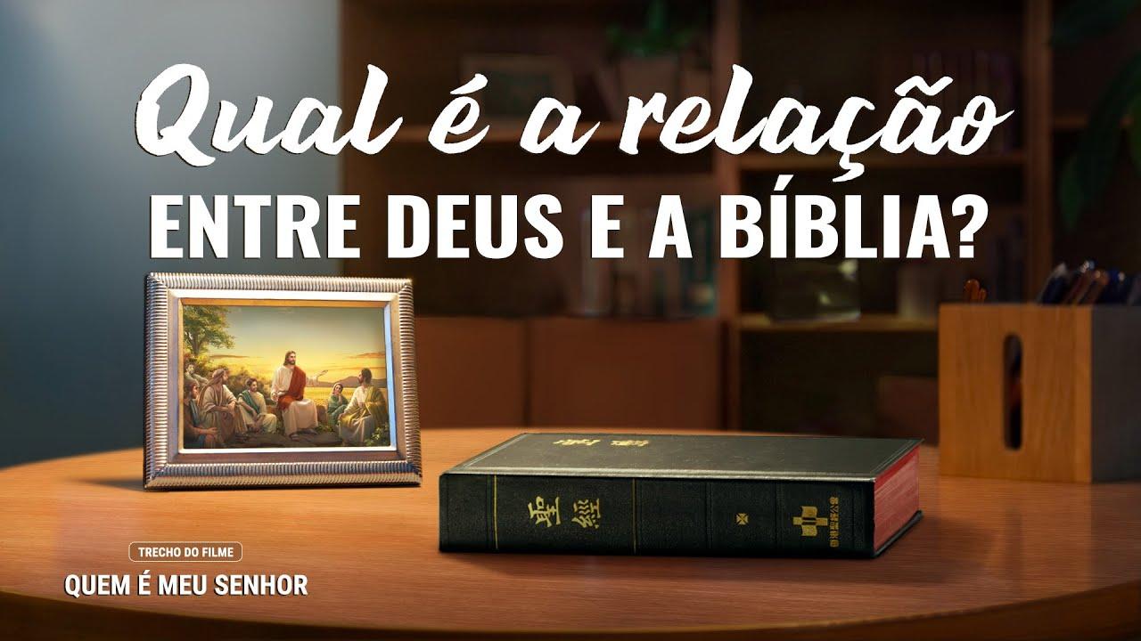"""Filme evangélico """"Quem é meu Senhor"""" Trecho 4 – Qual é a relação entre Deus e a Bíblia?"""